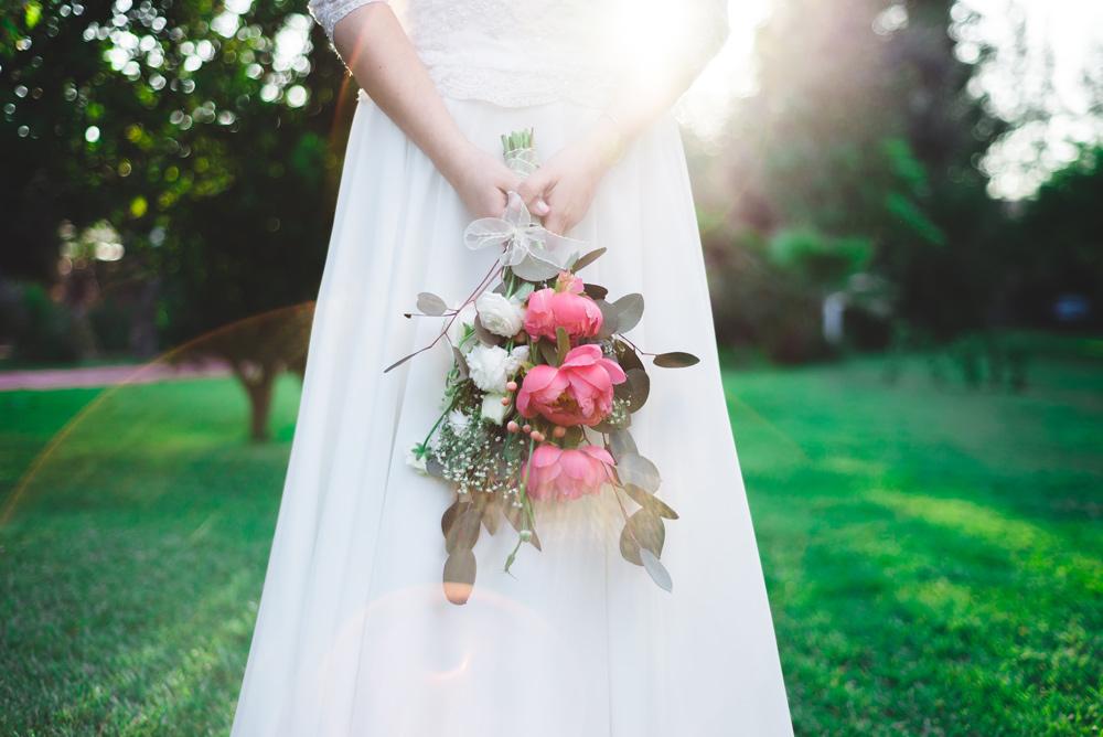 Carla & Álvaro - Bouquet de novia - Matrimonio en Casa Morada