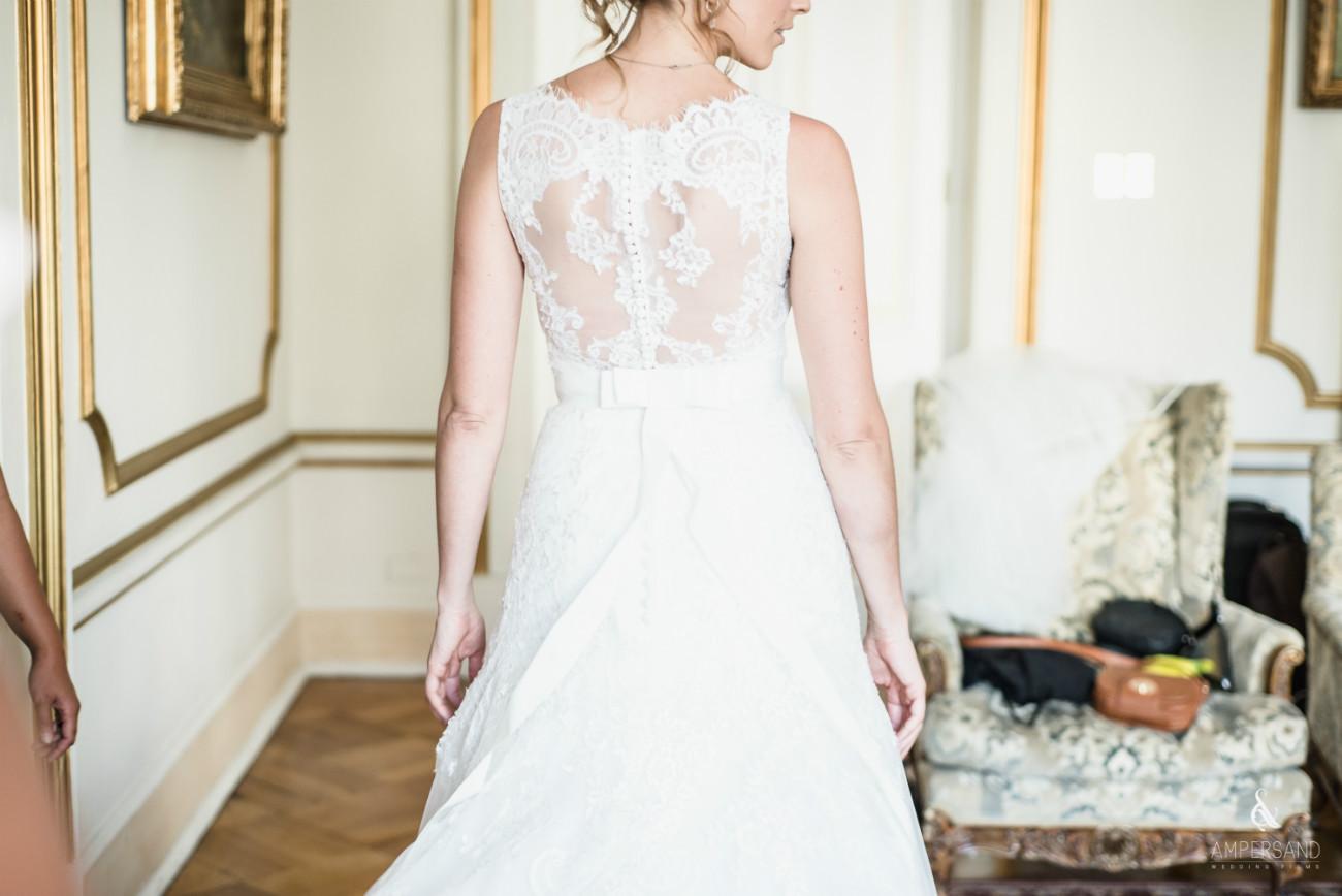 Vestido de novia - Michelle & Philippe - Palacio Subercaseaux