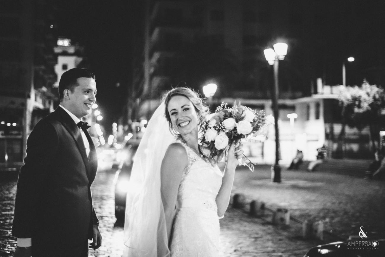 Recién casados - Michelle & Philippe - Palacio Subercaseaux