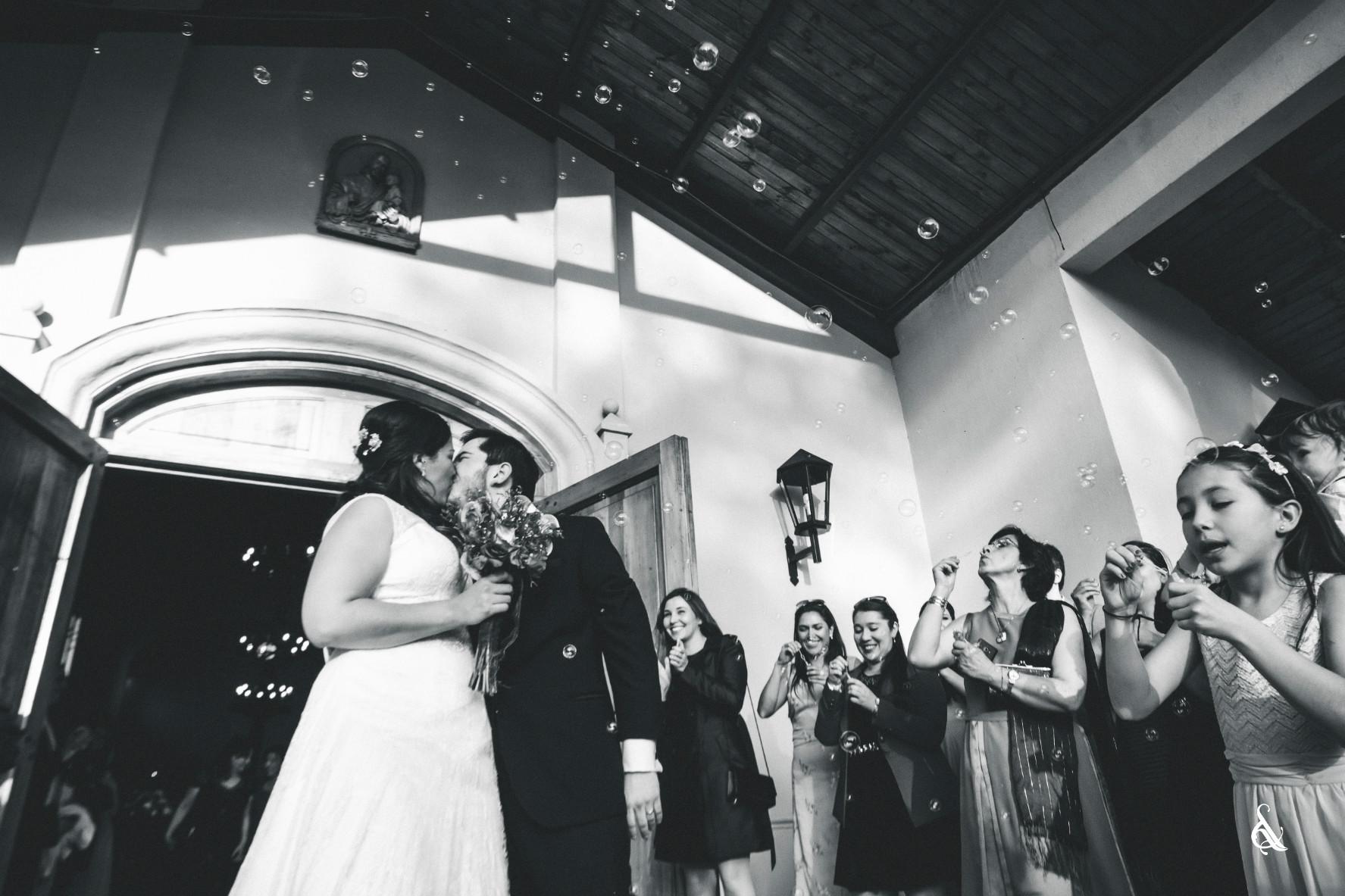 Tere y Julio - Matrimonio en Espacio Viña Linderos