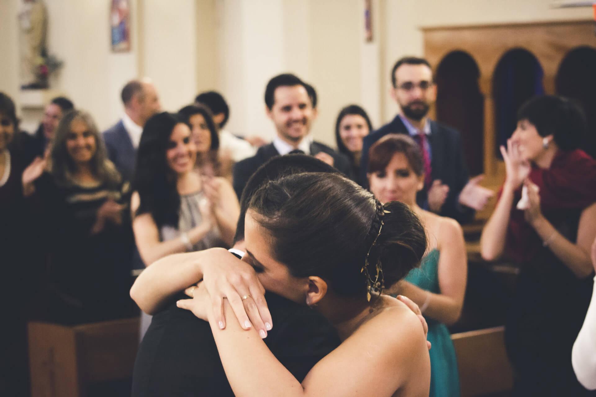 Claudia & Gines - Iglesia Santos Ángeles Custodios Buin.