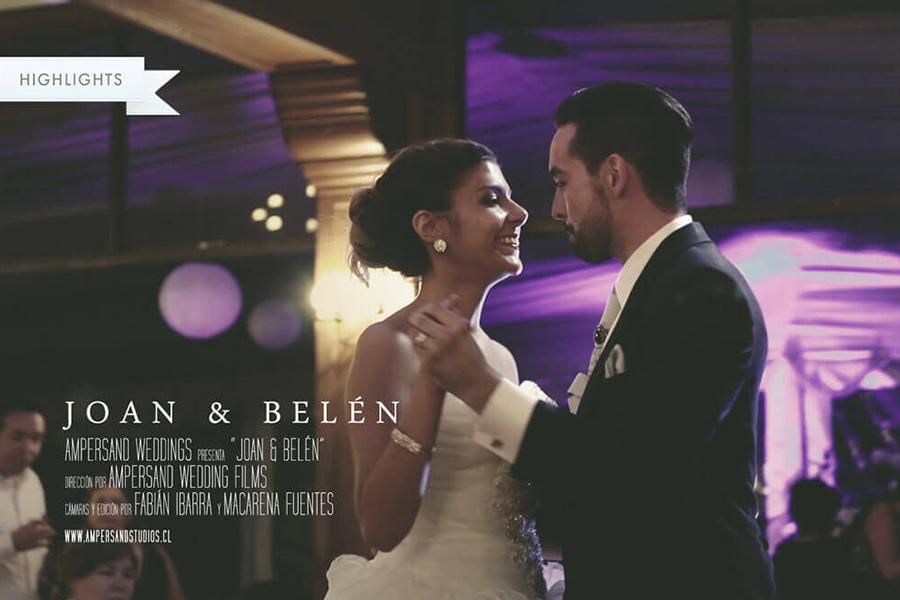 Joan & Belén Highlights Matrimonio