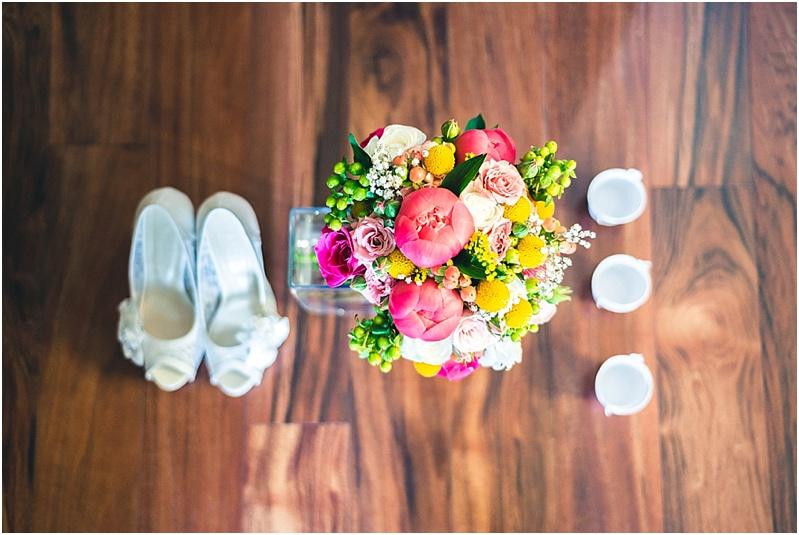 Fotografía bouquet de novia, preparativos matrimonio