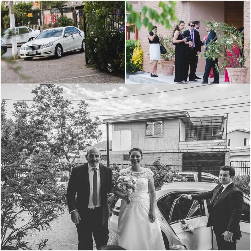 Fotografía de Matrimonio: Llegada de la novia