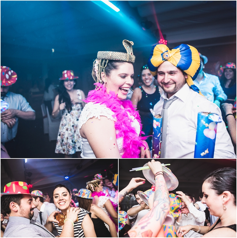 Fotografía de Matrimonio: Cotillón, Fiesta en Arak Club Libanés