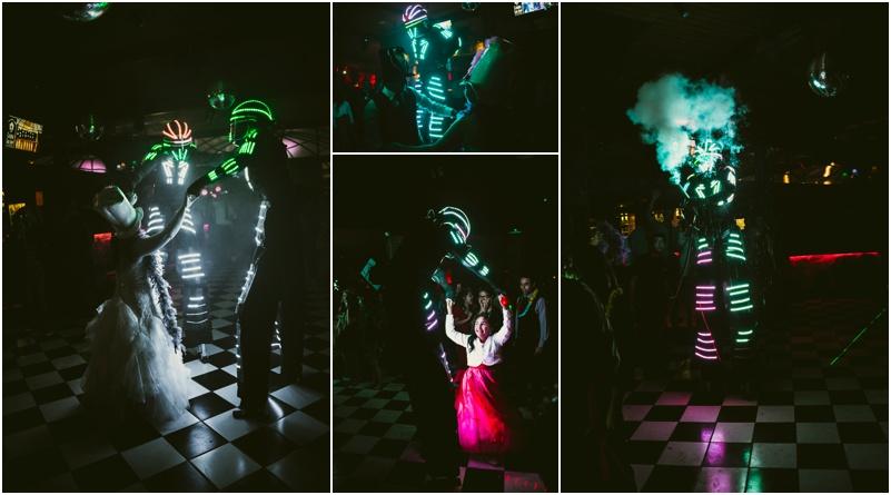 Fotografía de matrimonio en Casona San José de las Vertientes, Robot LED, Santiago, Chile