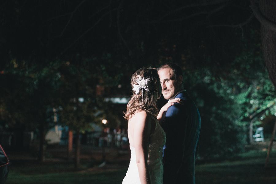 George & Claudia: Matrimonio en el Club Palestino