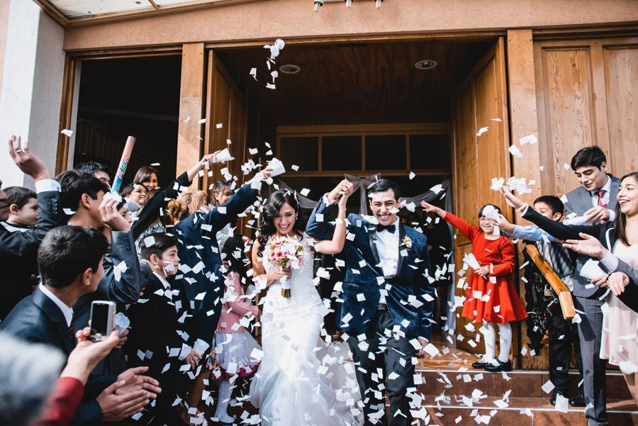 Fran & Oliver: Matrimonio en Centro de Eventos Antupirén