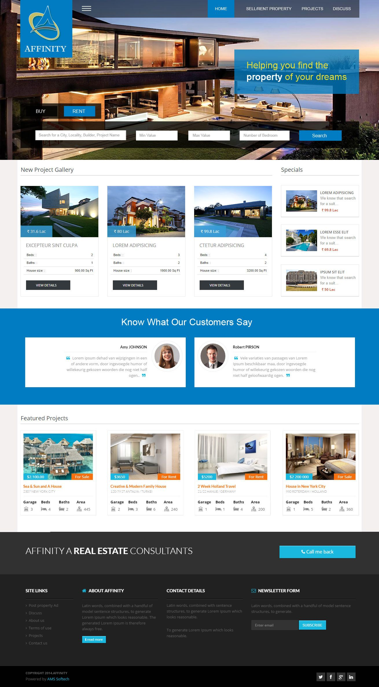 Creative website, Creative template, fresh layouts
