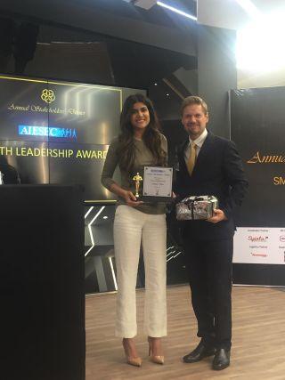 AISEC YOUTH LEADERSHIP AWARDEE - Ananya Birla