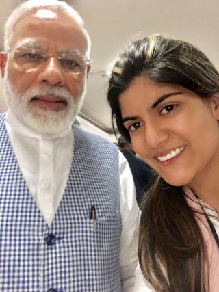 Interaction with PM Narendra Modi - Ananya Birla