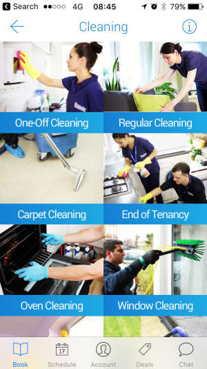 Go Fantastic Cleaning app services