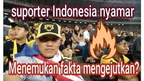 Suporter Indonesia menemukan fakta mengejutkan! saat nyamar jadi ultras malaysia