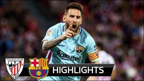 Athletic Bilbao vs Barcelona 0-2 - All Goals & Extended Highlights - La Liga 28/10/2017 HD