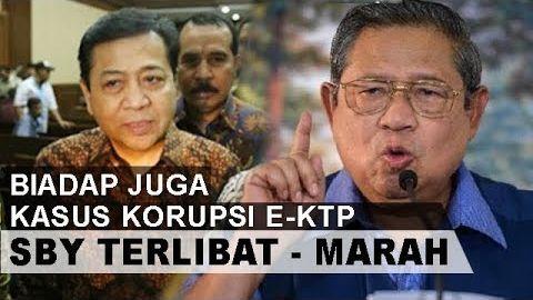 SBY Marah Besar.! Setnov Beberkan Nama SBY Dalam Sidang Korup E-KTP