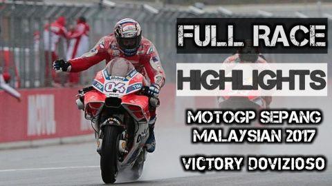 Full Race & Highlights MotoGP Sepang Malaysian 2017