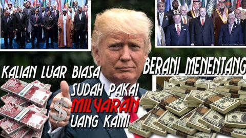 Donald Trump kecewa terhadap Indonesia, TURKI... semua anggota PBB | Menetang AS