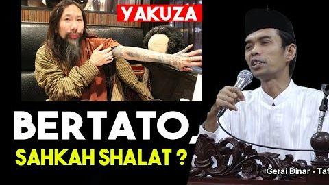 Apakah Sah Shalat Orang Yang Bertato - Ustadz Abdul Somad, Lc. MA