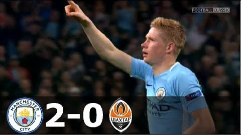 Manchester City vs Shakhtar Donetsk 2-0 - UCL 2017/2018 - Highlights (English Commentary) HD