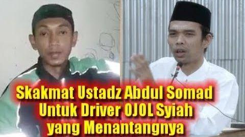 Skakmat Ustadz Abdul Somad Untuk Driver OJOL Syiah Yang Menantang Debat & Menuduh Cela Ahlul Bait