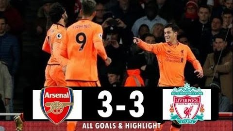 Arsenal vs Liverpool FC 3-3 All Goals & Highlight Extended (EPL) 2017/18
