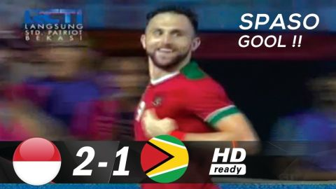 INDONESIA vs GUYANA (2-1) FULL Highlights & All goals - international friendly match