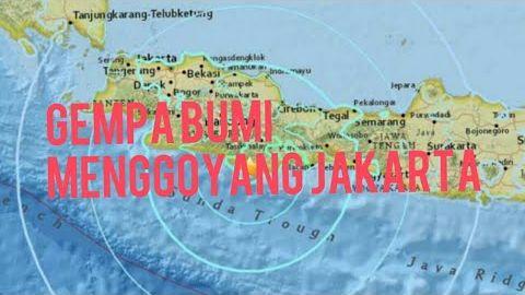 GEMPA BUMI Jakarta Hari Ini