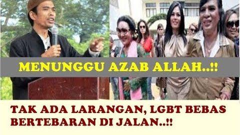 NG3RR1!! LGBT Makin Bertebaran Di Jalan Karena Tak Ada Larangan - Ceramah Ustadz Abdul Somad
