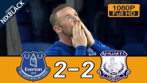 Apollon Limassol vs Everton 2-2 All Goals & Highlights (28/09/2017)