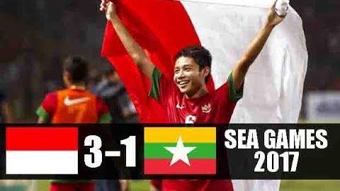 Indonesia U22 VS Myanmar U22 3-1 All Goals & Highlights - Sea Games 2017