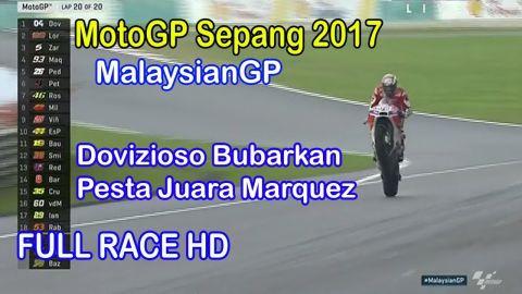 MotoGP Sepang Malaysia 2017 full race