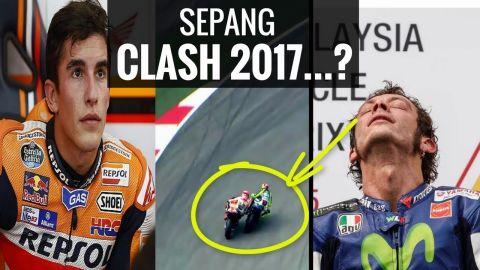 AWASS!! Rossi Bisa Urungkan Marquez Raih Juara Dunia di MotoGP Malaysia 2017