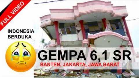FULL Video DETIK-DETIK GEMPA BUMI 6,4 SR Di BANTEN, JAKARTA, JAWA BARAT 23/01/2018