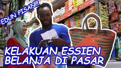 EDUN PISAN!! Kelakuan Essien Belanja di Pasar