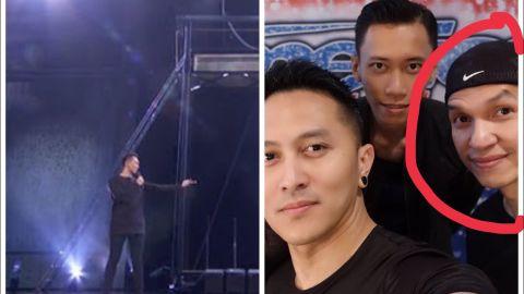 Aksi Demian di SCTV Awards makan korban yaitu seorang stunt-man bernama Edison Wardhana