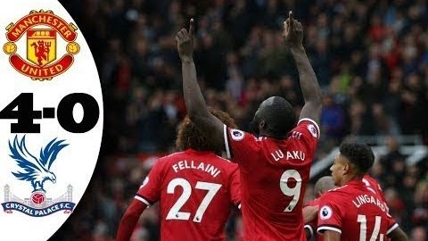 Manchester United vs Crystal Palace 4-0 ~ All Goals & Highlights ~ 30/09/2017 [HD]