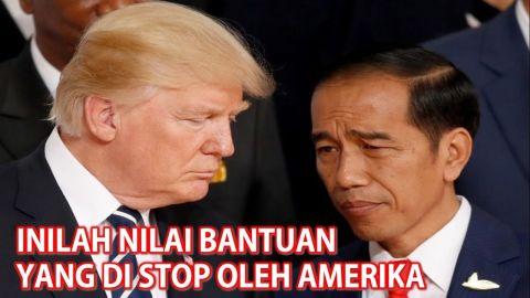INILAH Nilai Bantuan AMERIKA Yang Akan Di STOP Untuk INDONESIA