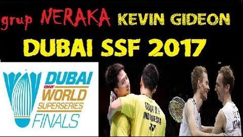drawing dan GRUP NERAKA KEVIN GIDEON DUBAI SSF 2017