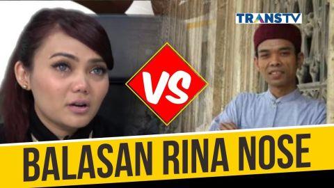 VIRAL, Rina Nose Balas |HINAAN| Ustadz Abdul Somad LC MA
