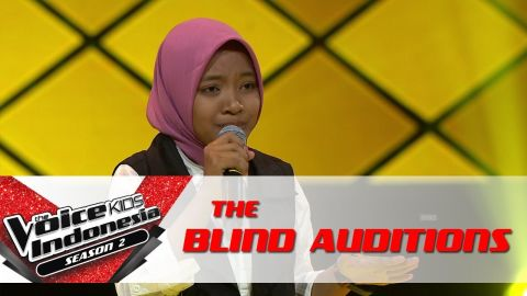 Sharla |Memory (Cats - Musical)| | The Blind Auditions | The Voice Kids Indonesia Season 2 GTV 2017