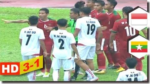 Full Highlights Indonesia vs Myanmar 3-1 (3rd Place) SEA Games 2017 HD