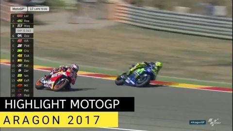 HIGHLIGHT MotoGP ARAGON 2017 🇪🇸