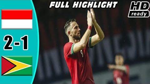 Indonesia vs Guyana 2-1 Highlights & All Goals Friendly Match 25/11/2017