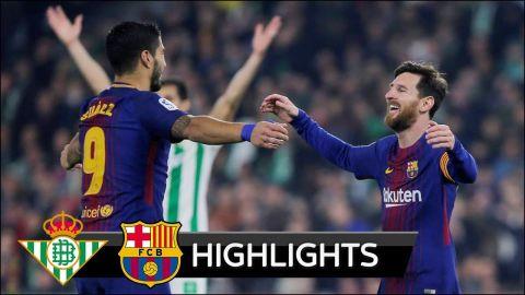 Real Betis vs Barcelona 0-5 - All Goals & Extended Highlights - La Liga 21/01/2018 HD