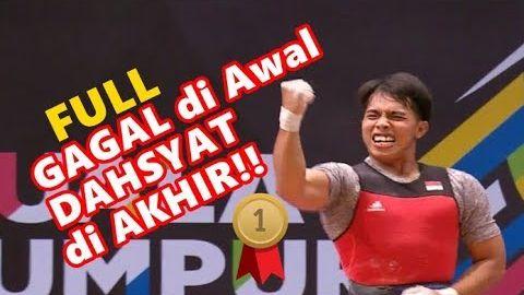 Berakhir DAHSYAT!! KETUT Bali INDONESIA Juara EMAS FINAL Angkat Beban Besi SEA Games 29 Agustus 2017