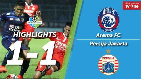 Arema FC vs Persija Jakarta: 1-1 All Goals & Highlights