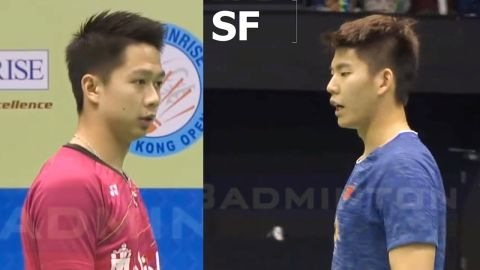 2017 Hong Kong Open Kevin Sanjaya SUKAMULJO Marcus Fernaldi GIDEON vs LI Junhui LIU Yuchen