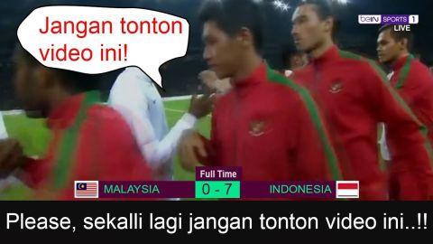 INDONESIA 7-0 MALAYSIA | Jangan ditonton ini EDITAN!!!