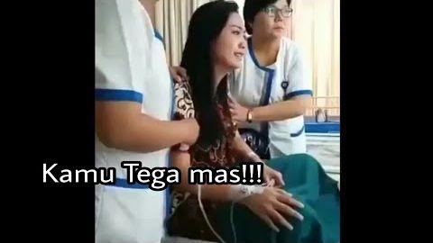 TEGA!! Pasien Cantik Mirip Ririn Dilecehkan Perawat Rumah Sakit Cowok !!