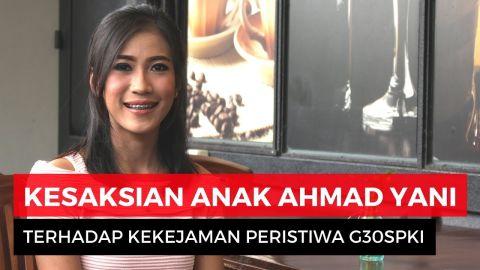 Eksklusif! Kesaksian Anak Ahmad Yani atas Kejamnya G30S/PKI
